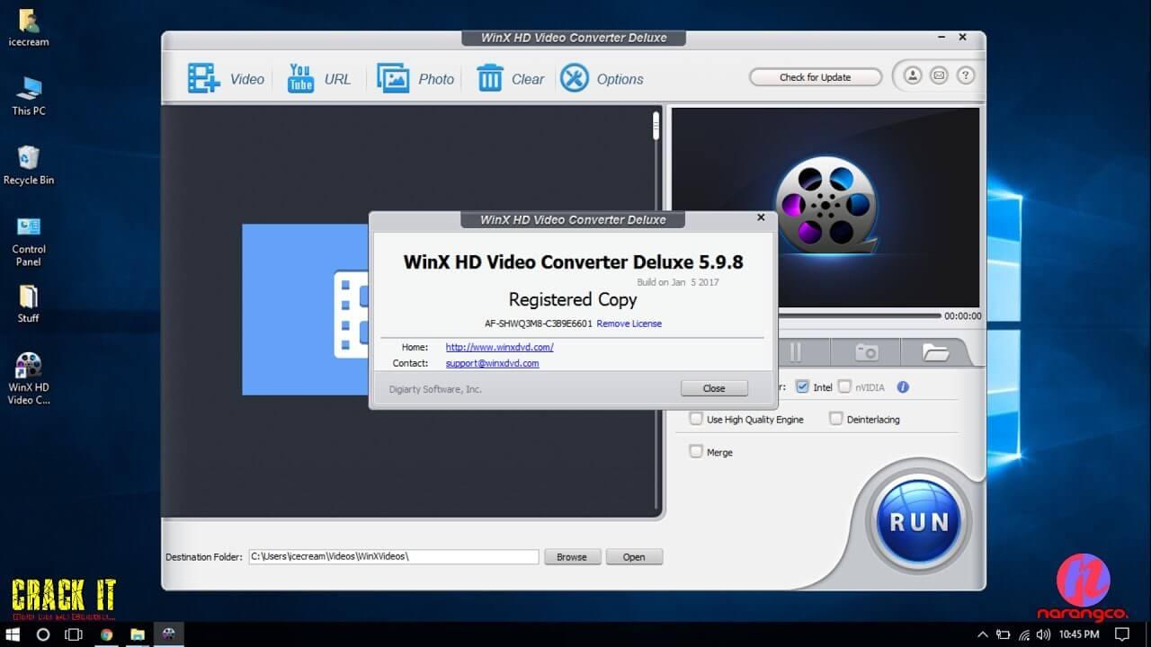 WinX HD Video Converter Deluxe -licensed